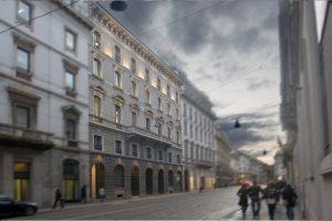Milano, Italia – via Manzoni 5