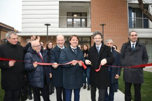 Opening of a 650 beds student house in Venezia